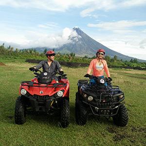 ATV ride adventure