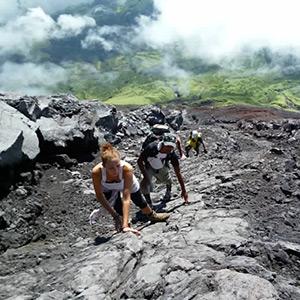Mt. Mayon Trekking